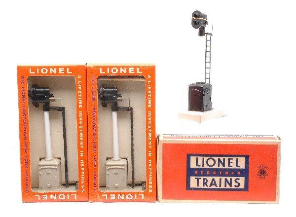 5: Lionel 2-163 Target 253 Block Signals MINT OBs