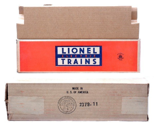 11: Lionel Original Boxes ONLY for 2379P/2379C