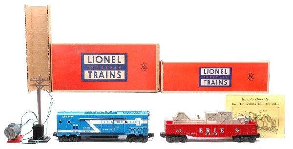 12: Lionel 3530 Generator Car 3444 Gondola MINT OBs