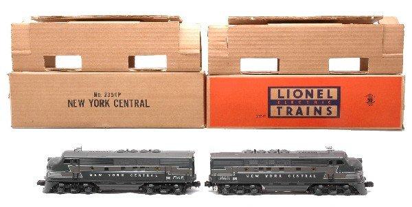 17: Lionel 2354P/2354T NYC EMD F3 AA Diesels LN OBs
