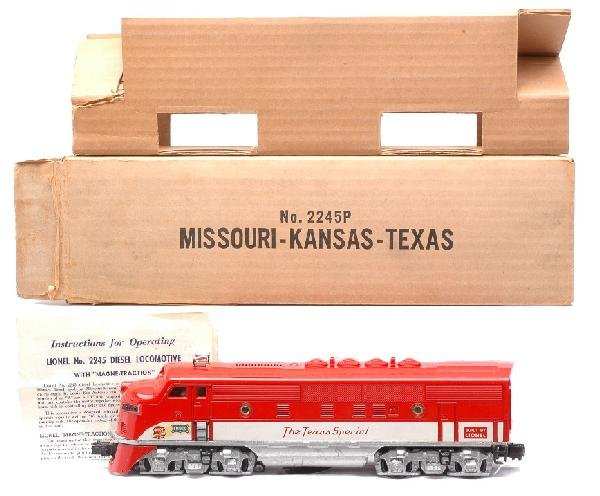 19: Lionel The Texas Special F3 A Unit Boxed
