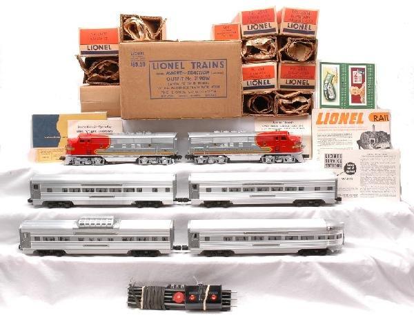 216: Lionel 2190W Passenger Car Set MINT Boxed