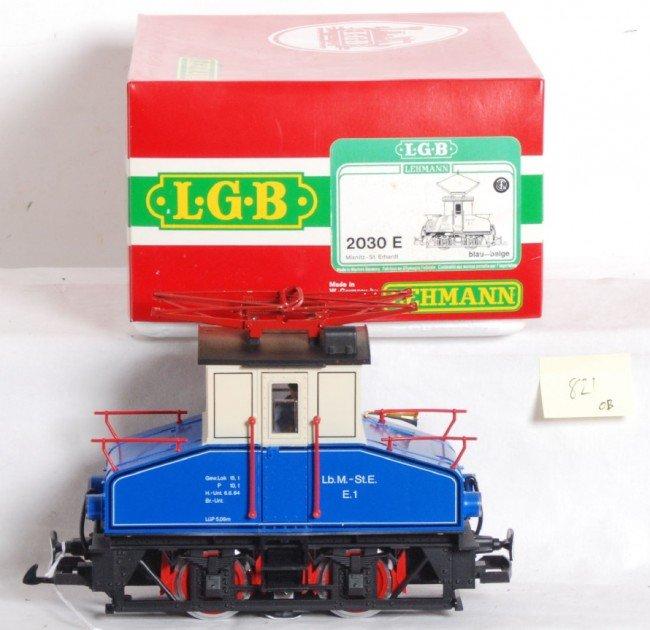 821: LGB 2030 E Mixnitz and St. Erhardt loco