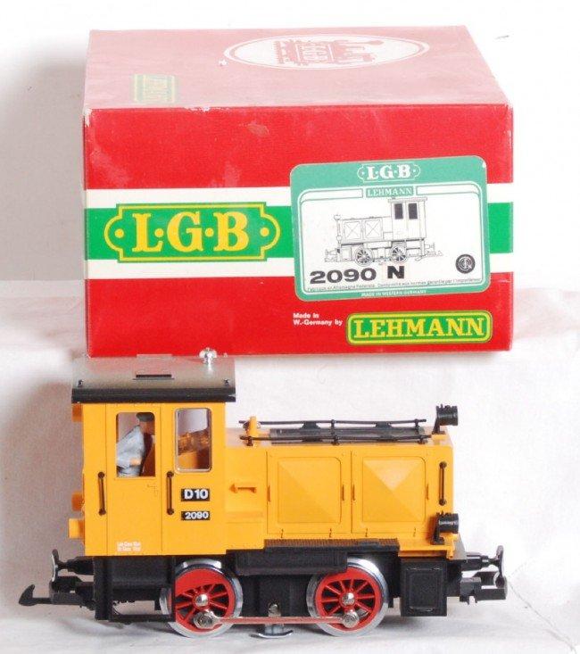 822: LGB 2090 N D10 loco in OB