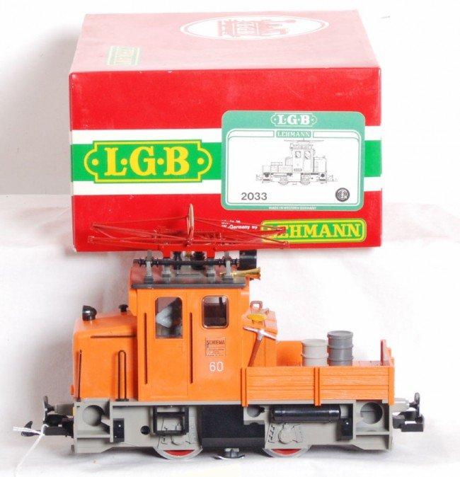 823: LGB 2033 Schoema electric loco