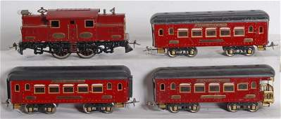 1216 Ives No 3241R loco wtwo 185 and one 186