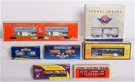 205 7 Lionel MTH K Line cars 36703 horse car etc