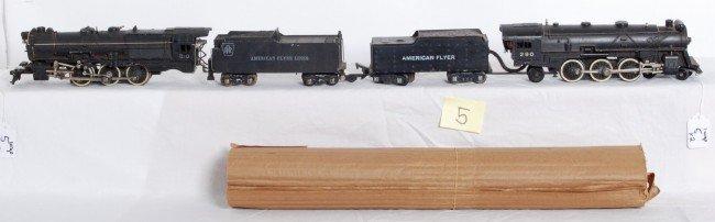 5: American Flyer No. 290 and No. 310 PRR