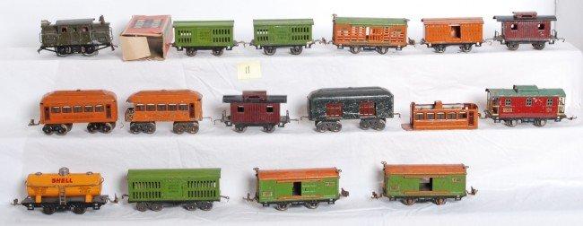 11: Lionel 153, 802, 800, 805, 821, 806, 804, 801, more