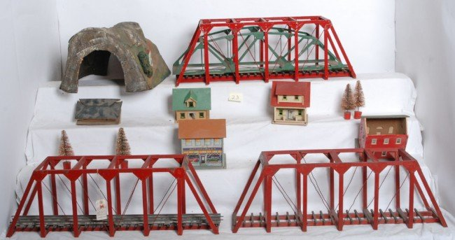 23: Lot of bridges, tunnel and buildings...