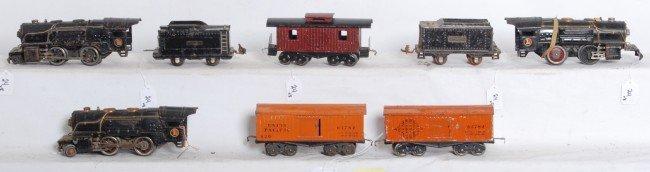 24: Lionel prewar O gauge 259, 259, 259E, two tenders