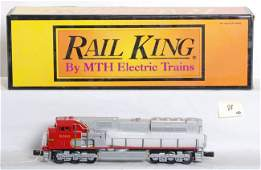 88: Railking Santa Fe SD90 with Protosound