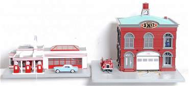 570 MTH operating Esso station and fire station