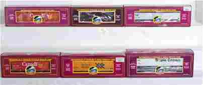 591 6 MTH freight cars Canada Amtrak PRR etc