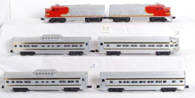 818: Lionel 2383 F3a units, Presidential four car set