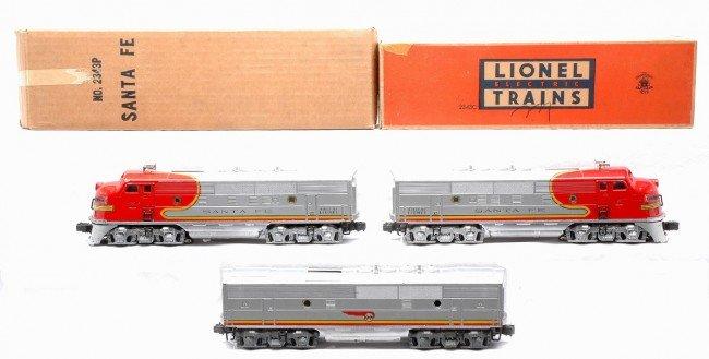 14: Lionel 2343 Santa Fe F3 ABA Diesel Units