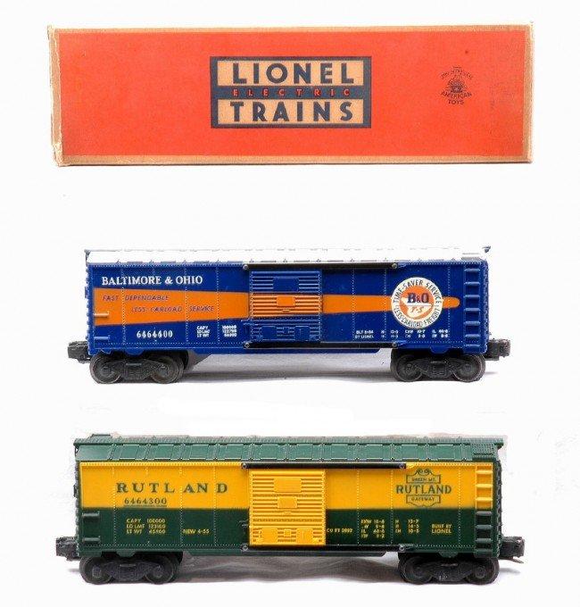 19: Lionel 6464-400 B&O 6464-300 Rutland Type IIb