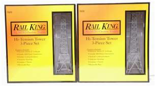 46 RK by MTH two 301056 HiTension Tower Sets MIB