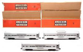 410: Lionel Aluminum Pass Cars 2533 2534 2532 LN OBs
