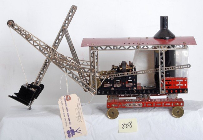 808: Erector electric steam shovel movie prop