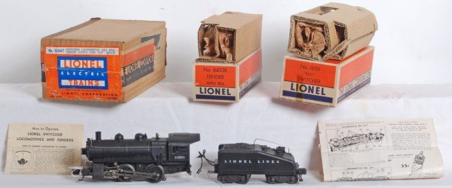 811: Lionel No. 1656LT switcher in M.C. w/inner boxes
