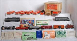 947 Lionel No 2185W NYC twin diesel freight set in OB