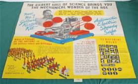 1146 1938 Gilbert Kaster Kit 32 x 32 inch poster