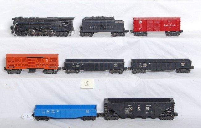 1: Lionel No. 681, 6466WX, 6446, 6462, 6462, 6162...