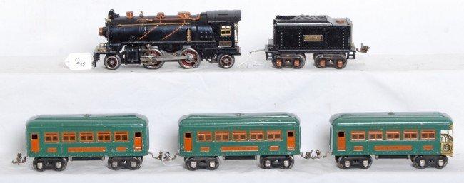 2: Lionel No. 262 loco, 262T tender, 607, 607, 608