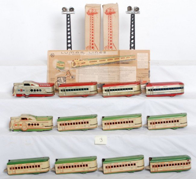 3: Marx City of Denver eight unit train and more