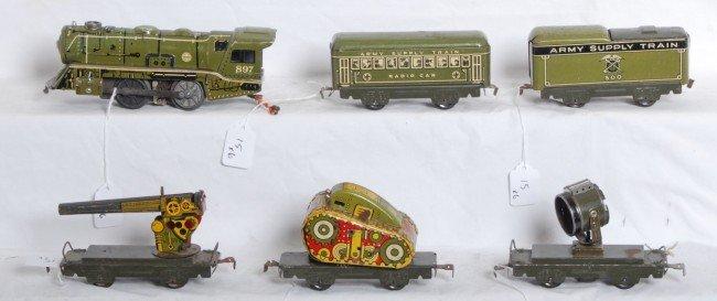15: Marx Army Supply train, 897, 500, radio, tank, sieg