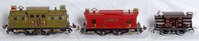 22: Lionel electric locomotives, No. 254E, 253, 150