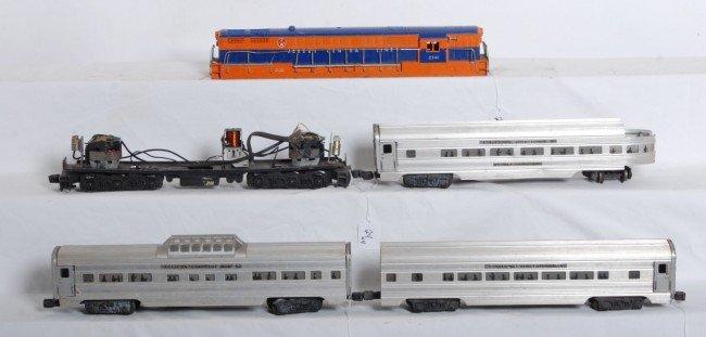24: Lionel 2341 FM, 2531, 2532, 2533 aluminum pass.