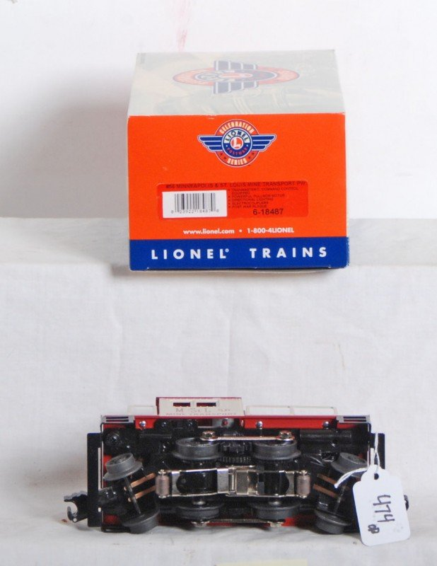 474: Lionel PWC Minneapolis and St. Louis switcher - 3