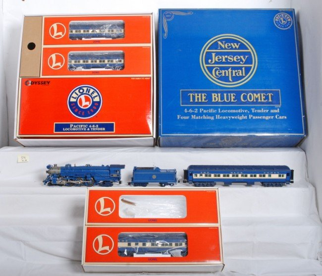 575: Lionel 21787 Blue Comet set and add ons