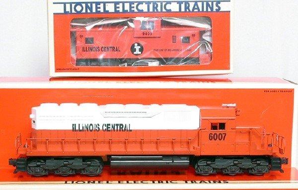 3000: Lionel Illinois Central SD40 18210 18217 19716