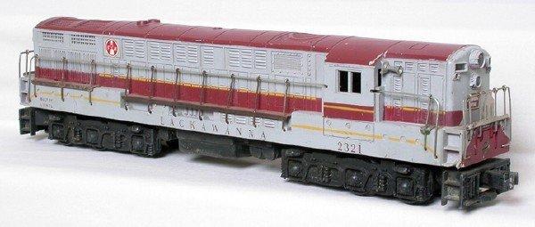 3004: Lionel 2321 maroon Lackawanna F-M Train Master