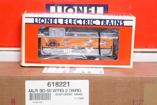 3012: Lionel 18221, 18222 and 17617