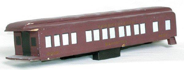 3186: Lionel early wood modern era prototype passenger