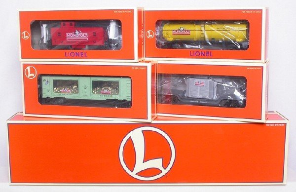 3198: Lionel Monopoly Train Set, Mint/OBÕs