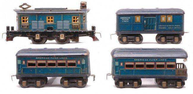 1: AF Bluebird Litho Pass Set 3113 1205 1267 1287