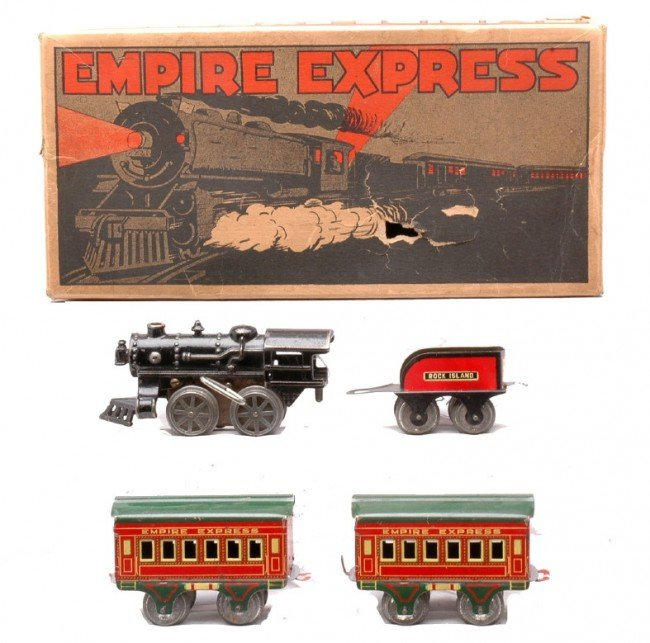 15: AF The Empire Express Litho Pass Set Boxed