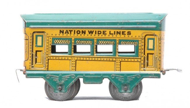 19: AF Nation Wide Lines Litho Yellow Coach w/Gr Roof