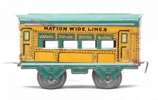 19: AF Nation Wide Lines Litho Yellow Coach w/Gr Roof - 2