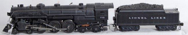20: Lionel No. 773 loco and No. 2426W tender