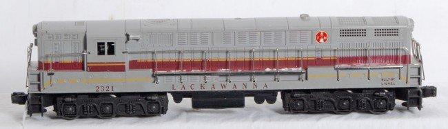 22: Lionel No. 2321 Lackawanna FM Trainmaster