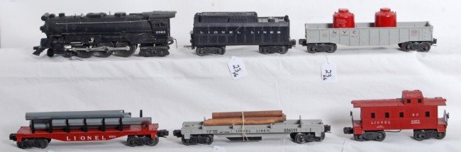 23: Lionel No. 2065, tender, 3361, 6511, 6562, 6357