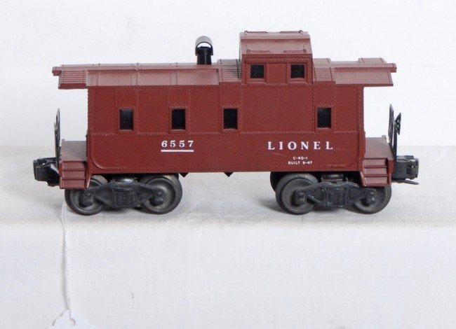 801: Postwar Lionel No. 6557 smoke caboose