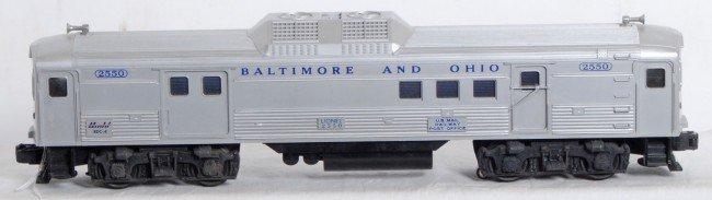 803: Lionel No. 2550 Baltimore and Ohio Budd RDC-4