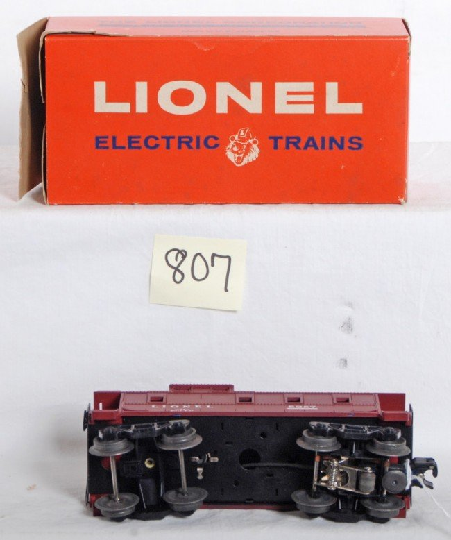 807: Lionel No. 6357 illuminated caboose in OB - 3